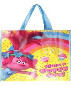 Shopping bag Trolls galbena cu roz - Aксесоари - Aксесоари Детски