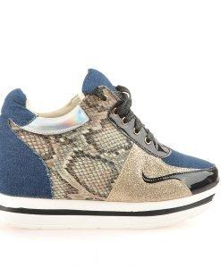 Sneakers Dama Beatriz Albastri - Promotii - Lichidare Stoc