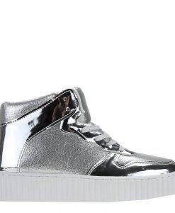 Sneakers dama Alejandra argintiu - Incaltaminte Dama - Sneakers Dama