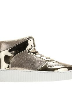 Sneakers dama Alejandra auriu - Incaltaminte Dama - Sneakers Dama