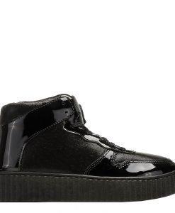 Sneakers dama Alejandra negru - Incaltaminte Dama - Sneakers Dama