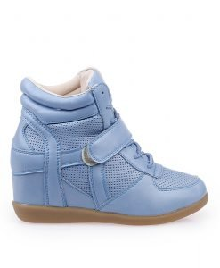 Sneakers dama Angelica albastru royal - Promotii - Lichidare Stoc