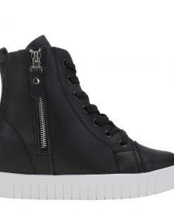Sneakers dama Avva negru - Incaltaminte Dama - Sneakers Dama