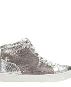 Sneakers dama Becerra argintiu - Incaltaminte Dama - Sneakers Dama