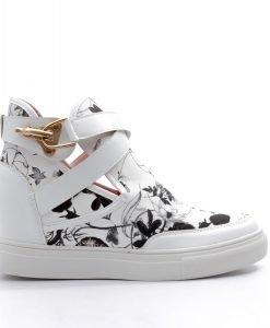Sneakers dama Benita alb - Promotii - Lichidare Stoc