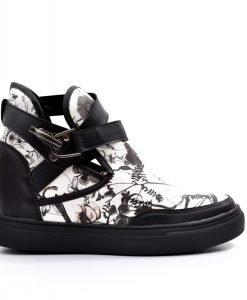 Sneakers dama Benita negru - Promotii - Lichidare Stoc