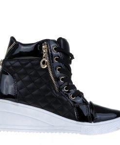 Sneakers dama Bonilla negru - Incaltaminte Dama - Sneakers Dama