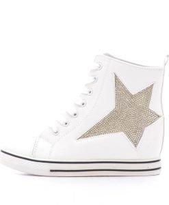 Sneakers dama Brielle alb - Promotii - Lichidare Stoc