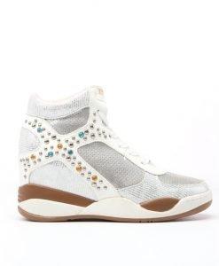Sneakers dama Doree argintiu - Promotii - Lichidare Stoc