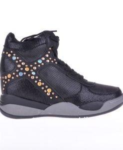 Sneakers dama Doree negru - Promotii - Lichidare Stoc