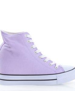 Sneakers dama Evaline mov - Incaltaminte Dama - Sneakers Dama