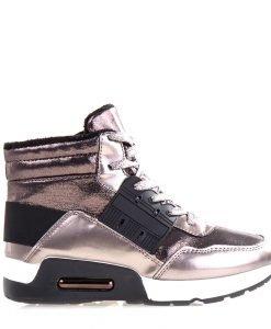 Sneakers dama Glendora argintii - Incaltaminte Dama - Sneakers Dama