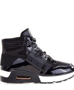 Sneakers dama Glendora negri - Incaltaminte Dama - Sneakers Dama