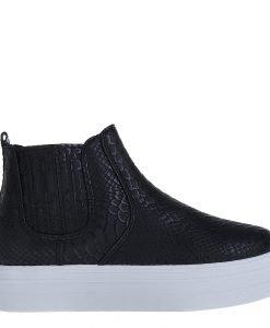 Sneakers dama Gloves negru - Incaltaminte Dama - Sneakers Dama
