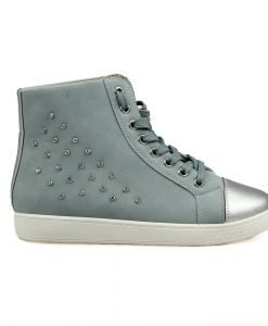 Sneakers dama Iarina albastru - Promotii - Lichidare Stoc