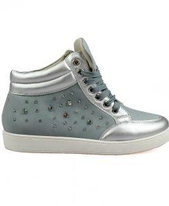 Sneakers dama Ionela gri albastrui - Promotii - Lichidare Stoc