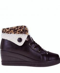 Sneakers dama Jeanetta negru - Incaltaminte Dama - Sneakers Dama