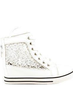 Sneakers dama Jewan alb - Promotii - Lichidare Stoc