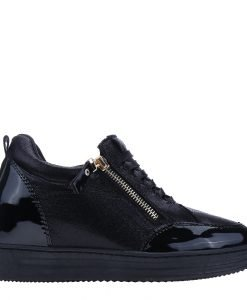Sneakers dama Julliene negru - Incaltaminte Dama - Sneakers Dama