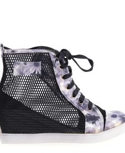 Sneakers dama Kizzy negru - Incaltaminte Dama - Sneakers Dama
