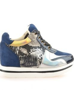 Sneakers dama Lara albastru - Promotii - Lichidare Stoc