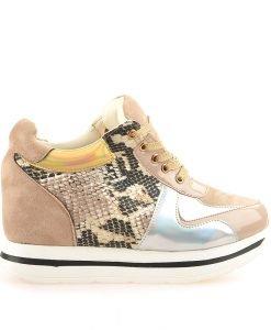 Sneakers dama Lara bej - Promotii - Lichidare Stoc