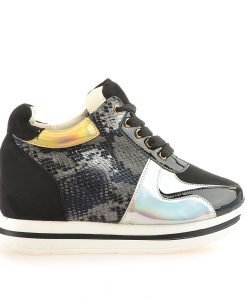 Sneakers dama Lara negru - Promotii - Lichidare Stoc