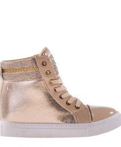 Sneakers dama Mara auriu - Incaltaminte Dama - Sneakers Dama