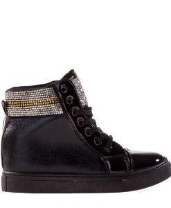 Sneakers dama Mara negru - Incaltaminte Dama - Sneakers Dama