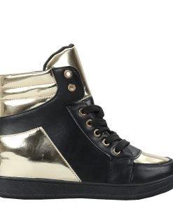 Sneakers dama Marinela negru - Promotii - Lichidare Stoc