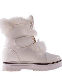 Sneakers dama Miller alb - Incaltaminte Dama - Sneakers Dama