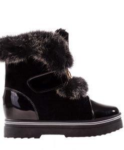 Sneakers dama Miller negru - Incaltaminte Dama - Sneakers Dama