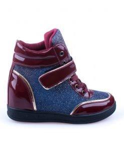 Sneakers dama Norma 1 grena - Promotii - Lichidare Stoc