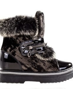 Sneakers dama Rainey negru - Incaltaminte Dama - Sneakers Dama