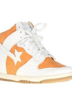 Sneakers dama Reka portocaliu - Pantofi ieftini de calitate - Pantofi ieftini de calitate