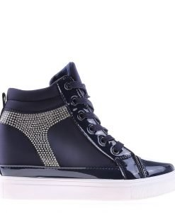 Sneakers dama Sabina albastru - Incaltaminte Dama - Sneakers Dama