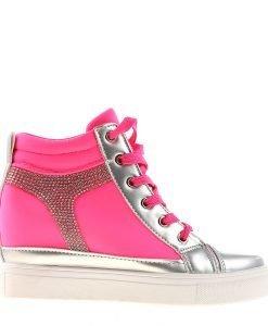 Sneakers dama Sabina roz - Incaltaminte Dama - Sneakers Dama