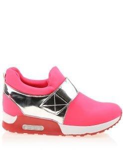 Sneakers dama Sadie rosu aprins - Incaltaminte Dama - Sneakers Dama