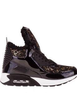Sneakers dama Sessum auriu - Incaltaminte Dama - Sneakers Dama