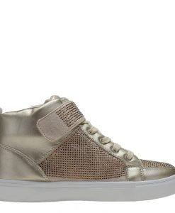Sneakers dama Vicky auriu - Incaltaminte Dama - Sneakers Dama