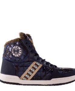 Sneakers dama West albastru - Incaltaminte Dama - Sneakers Dama