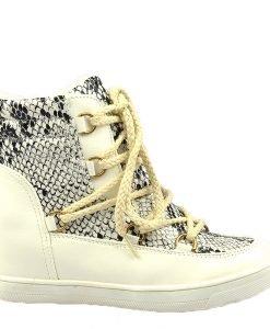 Sneakers dama alb Speer - Promotii - Lichidare Stoc