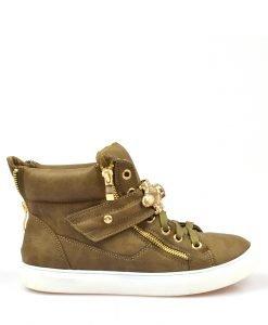 Sneakers dama khaki Kraus - Promotii - Lichidare Stoc