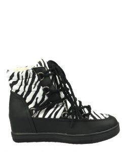 Sneakers dama negru Ruby - Promotii - Lichidare Stoc