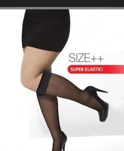 Sosete Magaly plus size 2 perechi - Lenjerie pentru femei - Sosete lungi si scurte