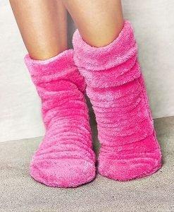 Sosete calduroase Pink - Lenjerie pentru femei - Capoate
