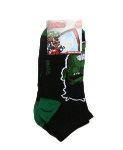 Sosete copii AVENGERS - Hulk negre cu verde - Aксесоари - Aксесоари Детски
