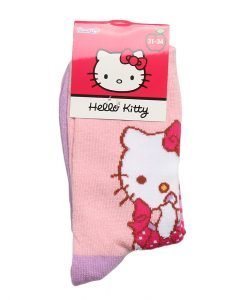 Sosete copii Hello Kitty roz cu mov - Aксесоари - Aксесоари Детски