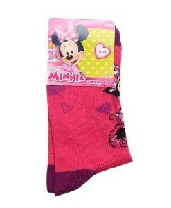 Sosete copii Minnie Mouse fucsia cu mov - Aксесоари - Aксесоари Детски