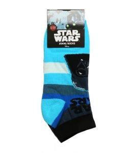 Sosete copii Star Wars bleu cu negru si gri - Aксесоари - Aксесоари Детски